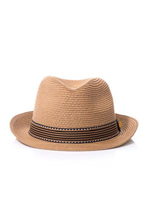 Vanessa bead-trimmed trilby