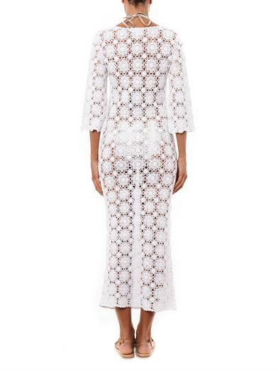 Melissa Odabash Cara crochet maxi dress