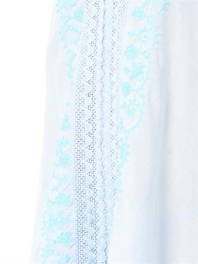 Melissa Odabash Bex lace-trimmed kaftan