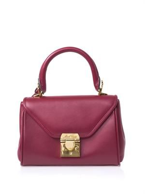 Scottie mini leather tote