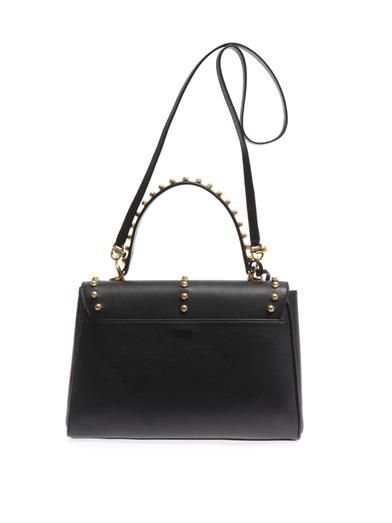 Mark Cross Scottie medium studded leather tote