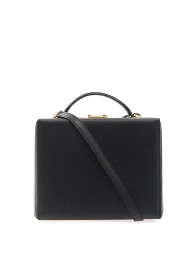 Mark Cross Grace large leather box bag