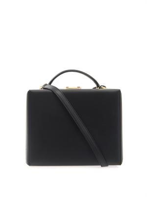 Grace large leather box bag