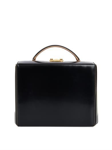 Mark Cross Grace large leather box bag