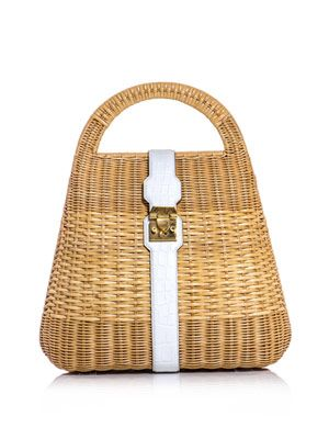 Man Ray wicker-basket bag