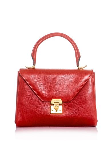 Mark Cross Scottie medium leather tote