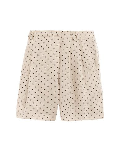 Sea Star-print shorts
