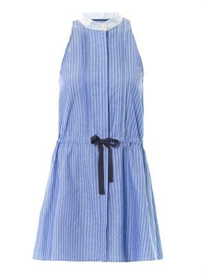 Oxford stripe dress