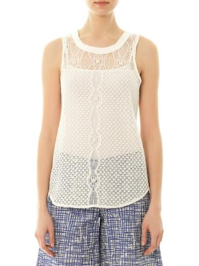Sea Lace tank top