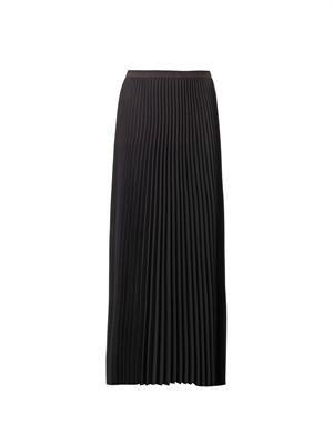 Sunray pleated maxi skirt
