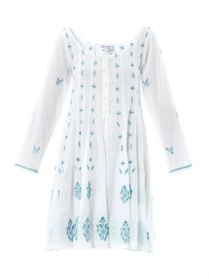 Embroidered tunic kaftan