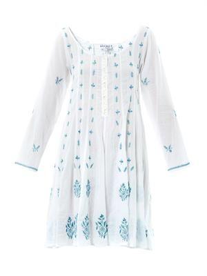Embroidered tunic kaftan