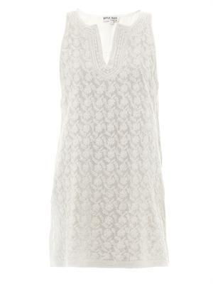 Embroidered cottton sun dress