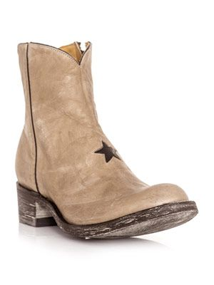 Small star ankle boots
