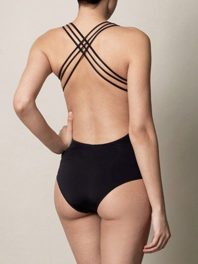 Olga Olsson Jane bandeau swimsuit