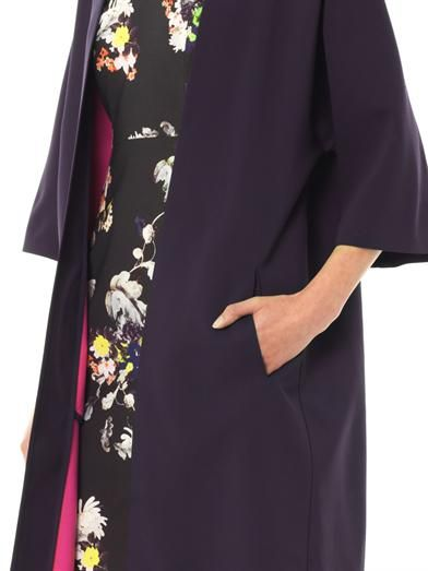 Osman Wool kimono coat