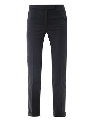 Techno-cotton trousers