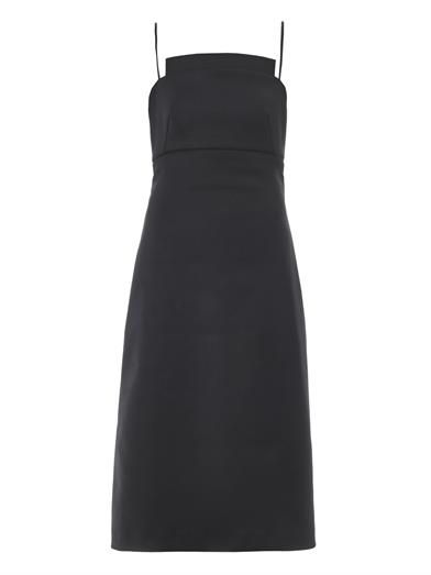 Osman Cut-out cady dress