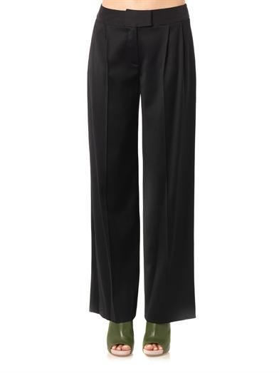 Osman Wide-leg tailored trousers