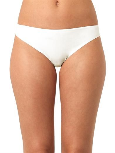La Perla Shape Allure lace-back Brazilian briefs