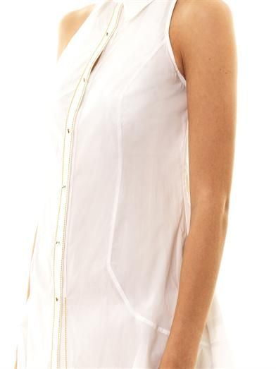 La Perla Sleeveless cotton beach dress