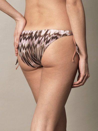 La Perla Ikat-print bikini briefs