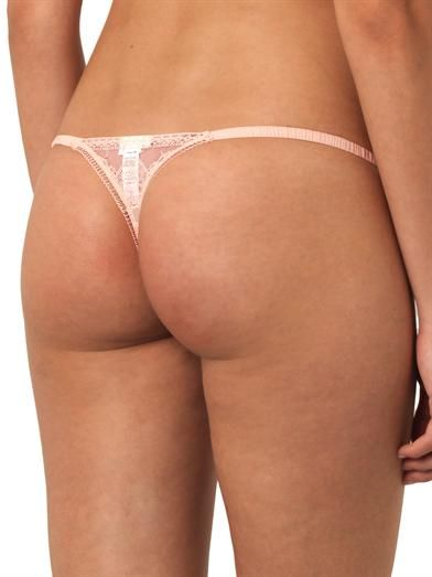 La Perla Saree lace thong