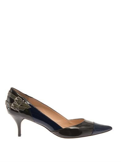Lucy Choi London Westminster patent-leather pumps