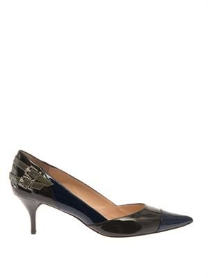 Westminster patent-leather pumps
