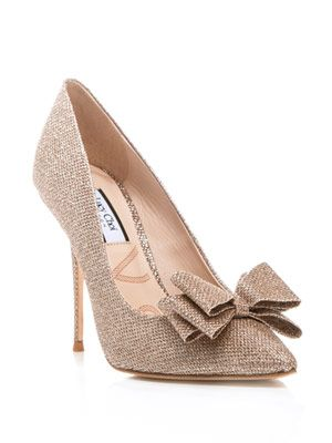 Glitter Rose pumps