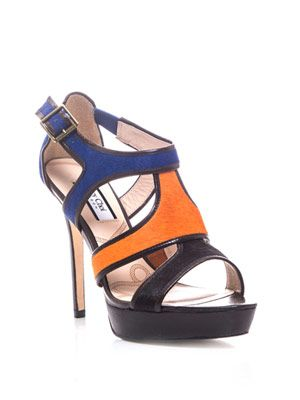 Colour-block Wysteria sandals