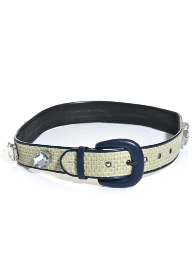 House Of Holland Crystal-embellished belt