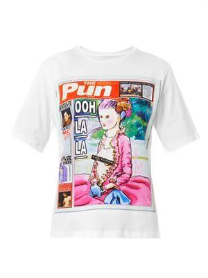 The Pun Ooh La La-print T-shirt