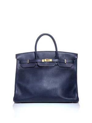 Birkin 40 leather bag