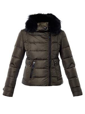 Bryone hooded quilted coat
