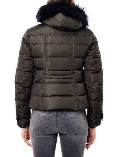 Moncler Bryone hooded quilted jacket