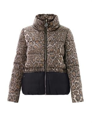 Argentee leopard and flannel jacket
