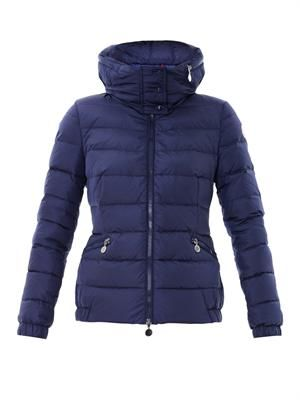 Sanglier quilted down jacket