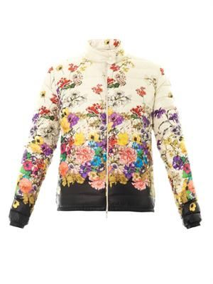 Alisia floral down jacket