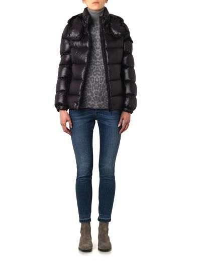 Moncler Berre quilted down jacket