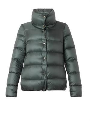 Bourdon quilted down coat