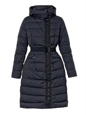 Lanoux quilted down coat