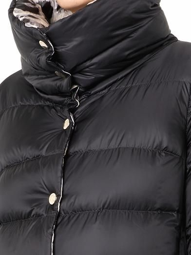 Moncler Charmes reversible quilted down coat