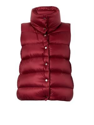 Sources quilted down gilet