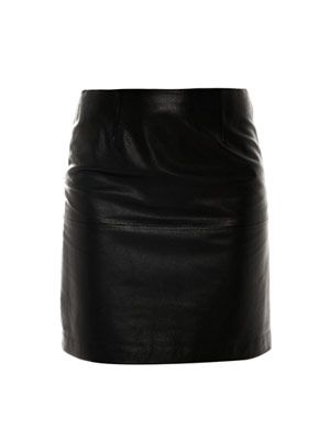 Sampson leather skirt