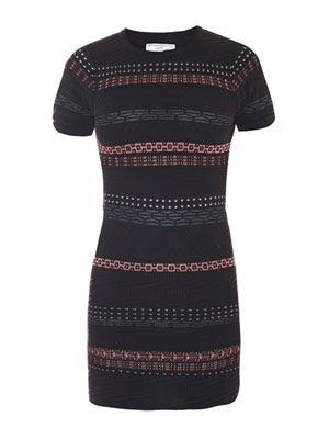 Hollis stripe body con dress
