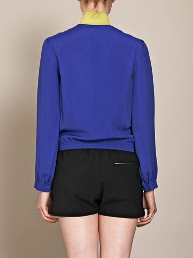 Opening Ceremony Wallace contrast-collar jacket