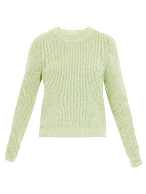 Marl melange sweater