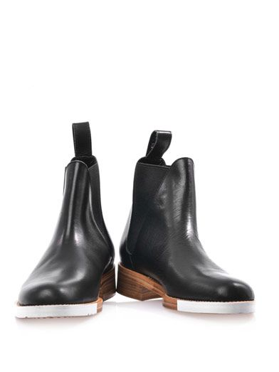 Julien David Leather Chelsea boots