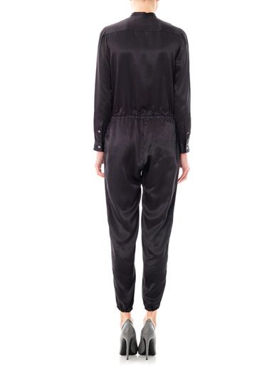 Julien David Silk jumpsuit